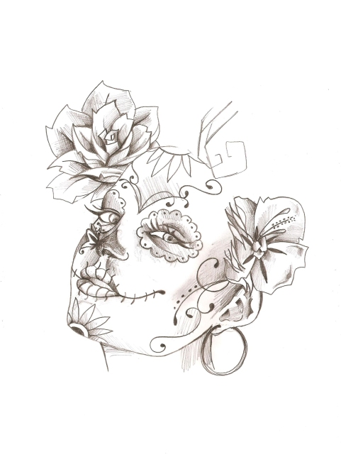 lady calavera