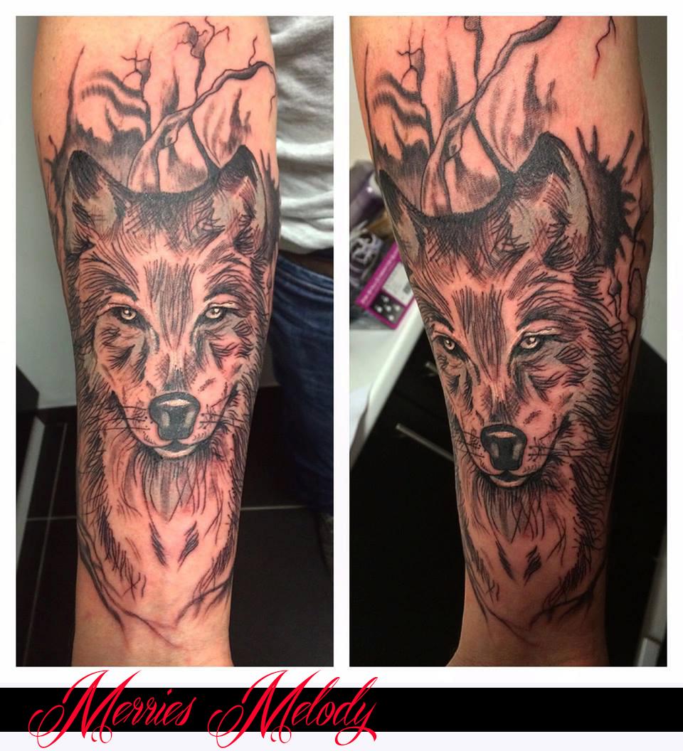 loup poils