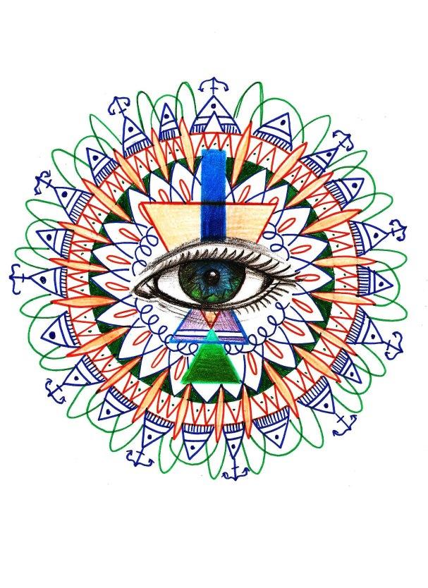 mandala oeil
