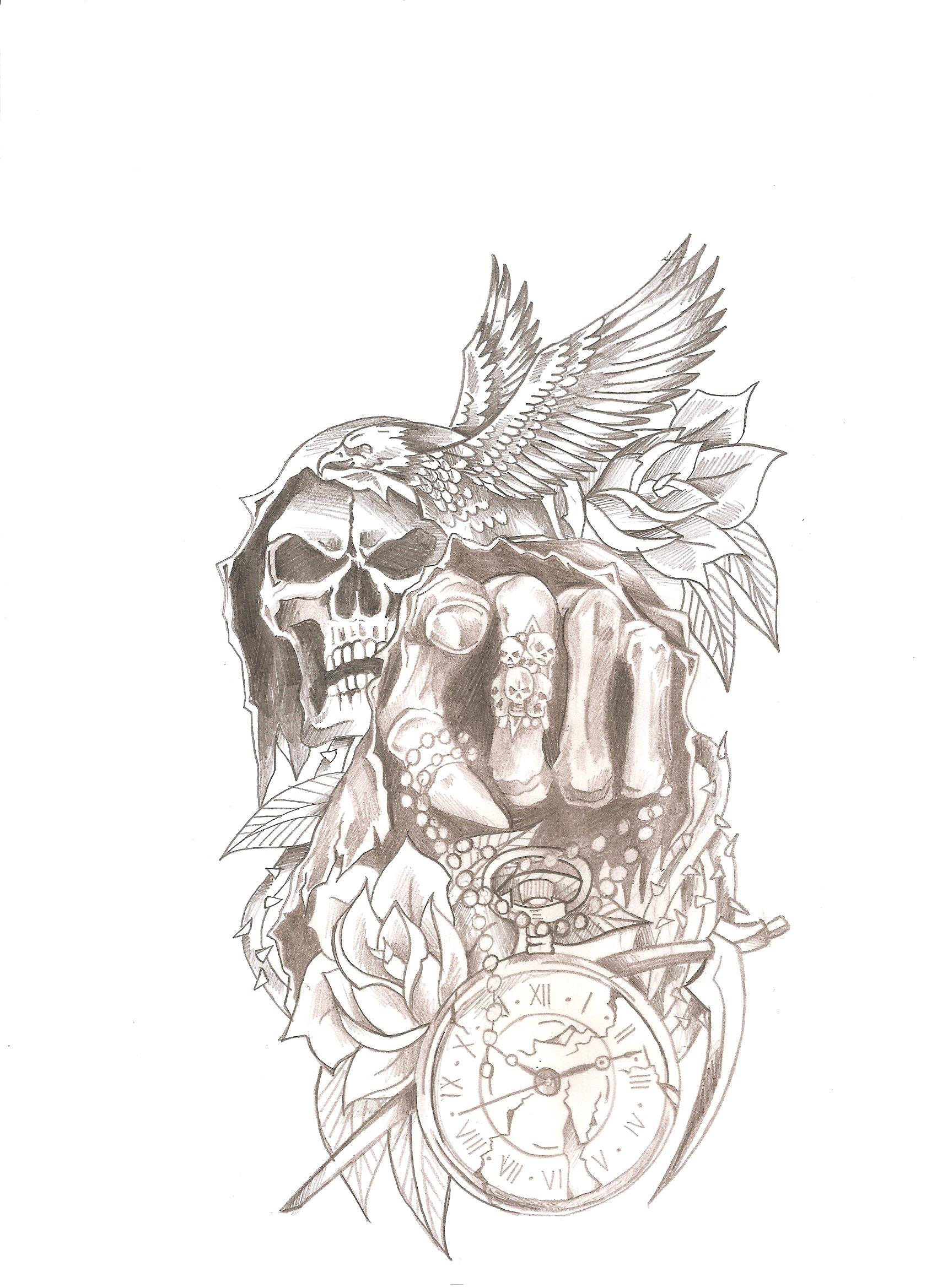 Rose dessin tatouage galerie tatouage - Rose dessin tatouage ...
