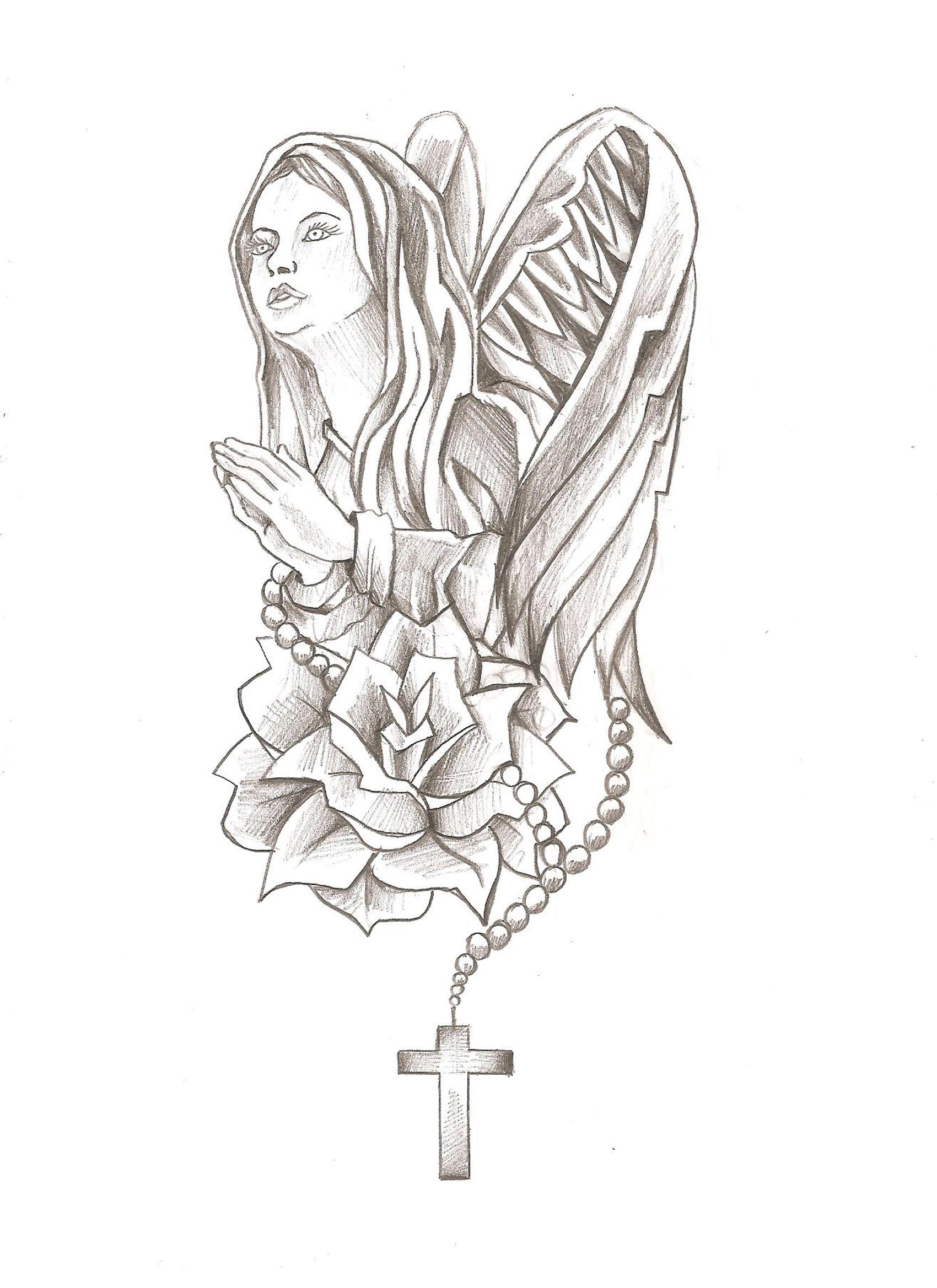 Dessin De La Vierge Marie Og91 Jornalagora