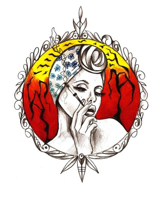 visage femme fume 1