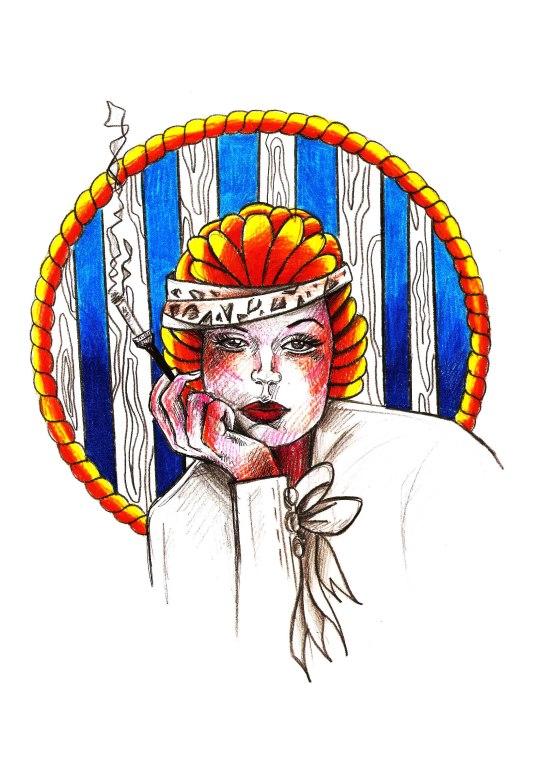 visage femme fume 2