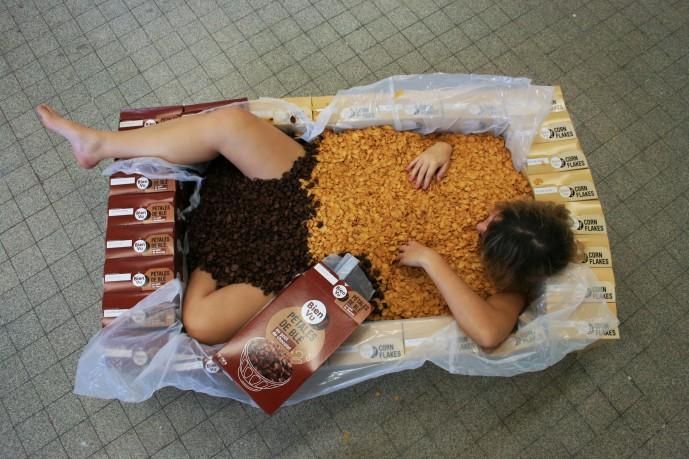 Ready-made boite céréale