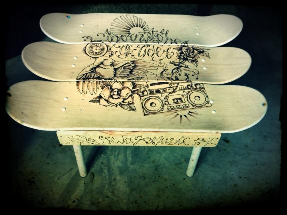 table basse skate 12