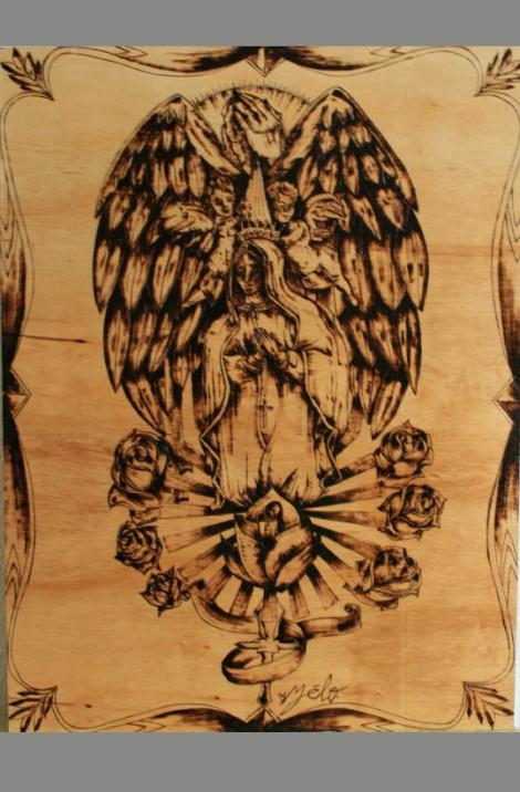 vierge ailes